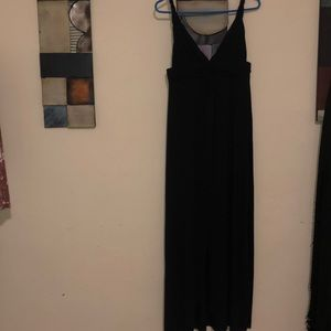 VS long black summer dress/cover up